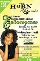 3rd Annual H2BN Natural Hair & Health Extravaganza