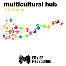 Multicultural Hub and City Of Melbourne logo