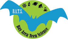 Bay Area Teen Science (B.A.T.S.) logo