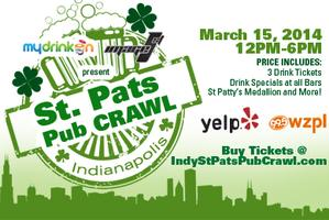 St Patty's Pub Crawl Indianapolis (THIS YEAR EVENT AT...