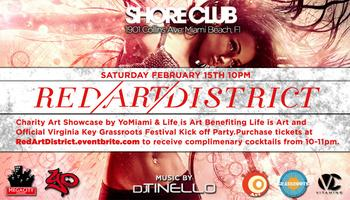 Red Art District: Art Showcase benefiting Life Is Art...