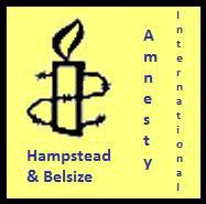Amnesty Hampstead & Belsize Campaigns Group logo