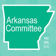 Arkansas Committee of the National Museum of Women in the Arts logo