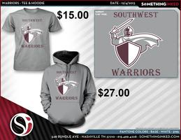 Southwest Warriors T-shirts and Hoodies