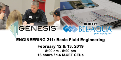 Bel-Aqua is proud to host GENESIS® ENGINEERING 211:...