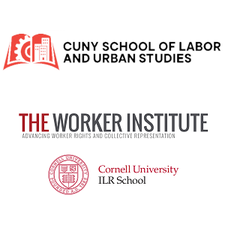 Murphy Institute, CUNY School of Labor and Urban Studies and The Worker Institute, Cornell  logo
