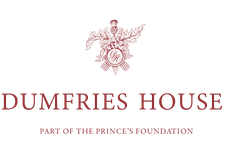 Education Department. Dumfries House. Part of The Prince's Foundation. logo