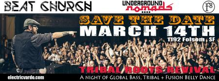 Tribal Roots Revival - A night of Global Bass, Tribal...