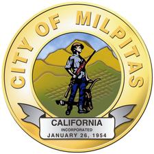 City of Milpitas Public Works Department logo
