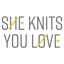 She Knits You Love logo