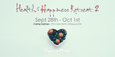 Health and Happiness Retreat 2