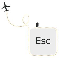 Your Escape Route logo