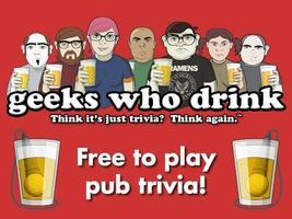 WEEKLY PUB TRIVIA w/ GEEKS WHO DRINK