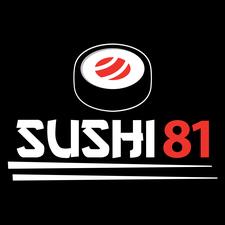 Sushi 81 logo