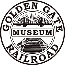 Golden Gate Railroad Museum logo