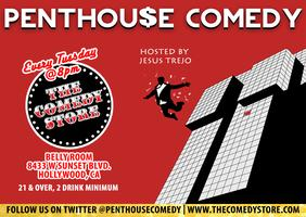 PENTHOUSE COMEDY EVERY TUES @ THE COMEDY STORE, 8PM...