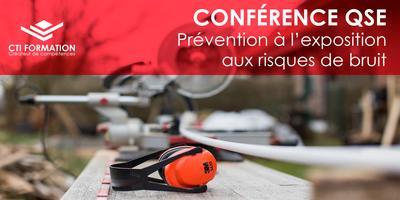 Conférence QSE : Prévention à l'exposition aux risques...
