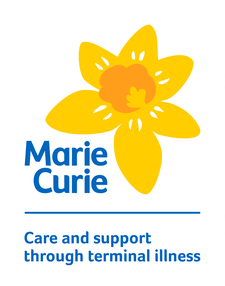 Marie Curie Northern Ireland logo