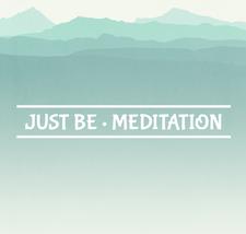 Just Be (formerly Radiate Happy) Meditation logo