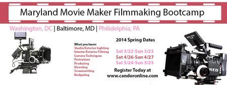 Maryland Movie Maker Filmmaking Bootcamp