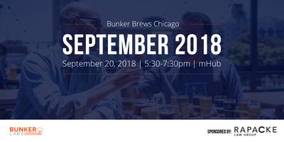 Bunker Brews Chicago: September 2018