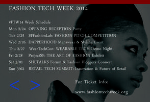 Fashion Tech Week 2014 - Opening Reception #FTW14