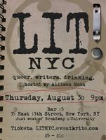 LIT! NYC . . . queer. writers. drinking.