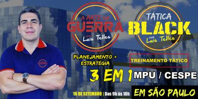 SÃO PAULO-SP | 3 EM 1 - ARTE DA GUERRA CESPE/MPU -...