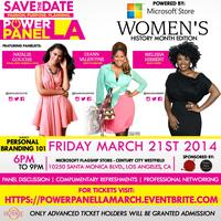 #PowerPanelLA - Personal Branding 101: Women's History...