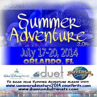 Summer Adventure 2014 - Disney World & Universal...