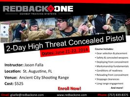 Redback One 2-Day High Threat Concealed Pistol - St....