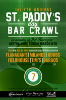 7th Annual St. Paddy's Day Bar Crawl