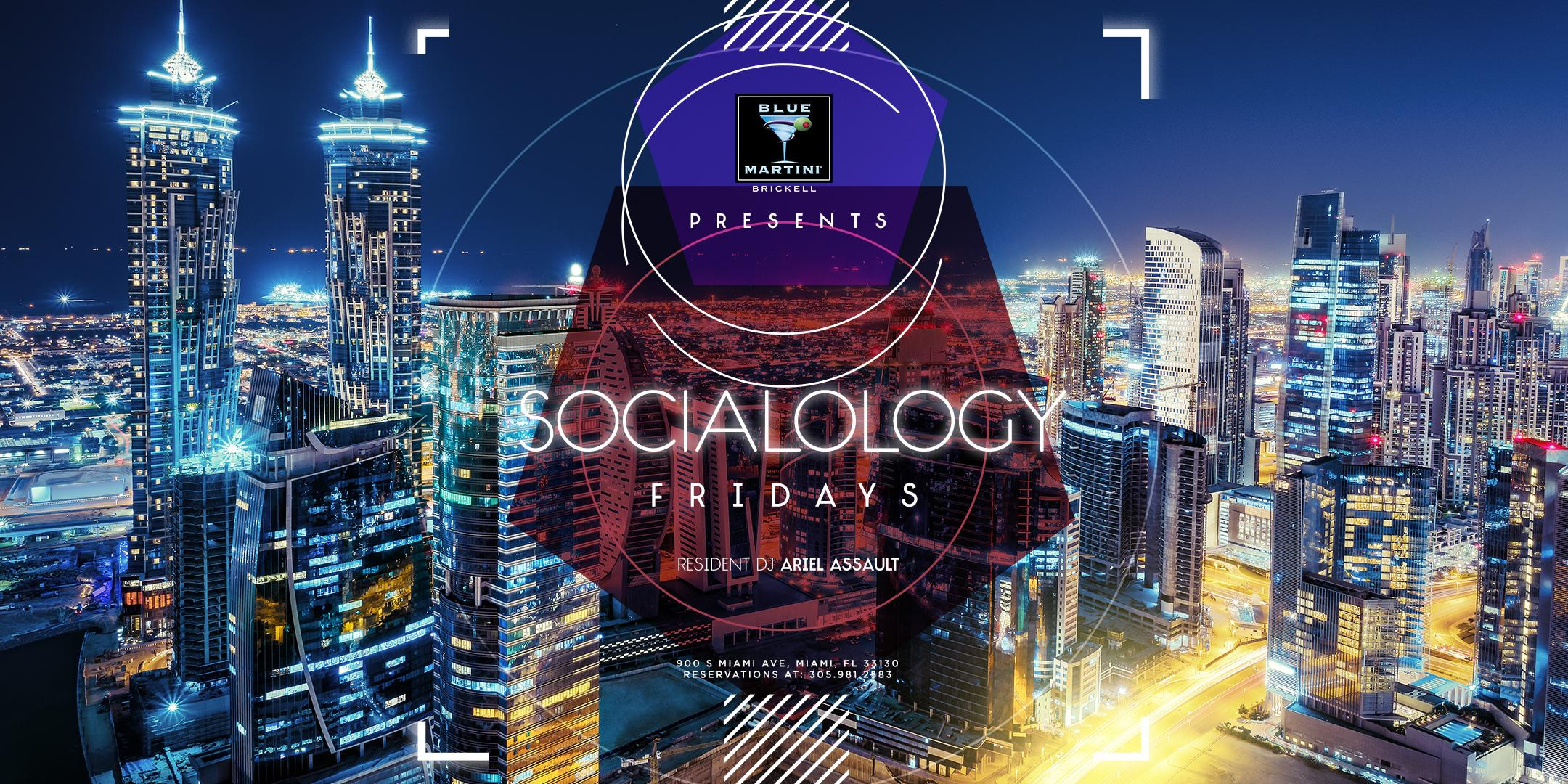 Free Admission to Blue Martini Brickell Friday
