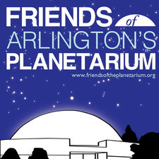 The Friends of Arlington's David M. Brown Planetarium logo