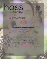 LookMazing & Hoss Intropia @ Bloomingdale's Exclusive...