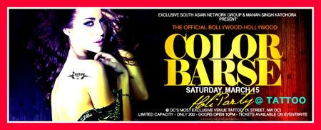 ": COLOR BARSE : Official Bollywood-Hollywood ""HOLI""..."