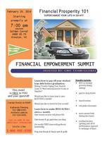 FINANCIAL PROSPERITY / EMPOWERMENT SUMMIT