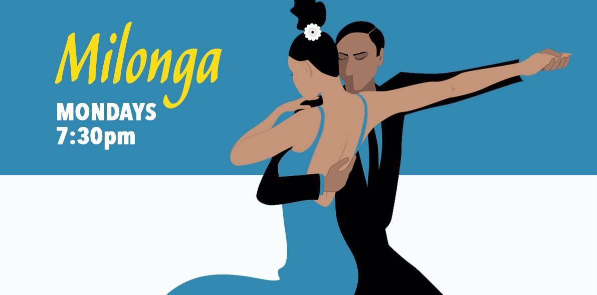 Milonga Mondays: learn Milonga lisa and traspie - open level