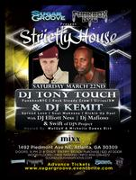Sugar Groove Pres Tony Touch & Dj Kemit March 22nd