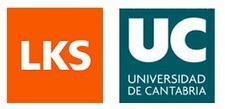 Universidad de Cantabria (Vicerrectorado de Relaciones Institucionales y Coordinación de CCI) y LKS logo