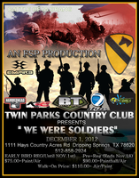 We Were Soldiers 2012: remembering the Vets DEC 1st...