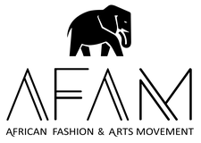 African Fashion and Arts Movement Vancouver logo