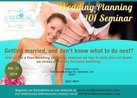 Wedding Planning 101 Seminar