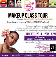 Chicago Beat & Snatched Makeup Class w/ MiMi J. and Jeremy...