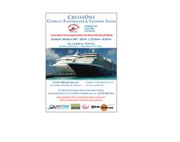 CruiseOne Charity Fundraiser Fashion Show