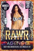 RAWR Animal Print Night @ Agency!