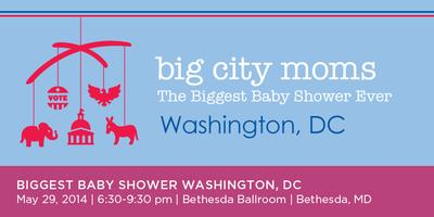 Big City Moms Biggest Baby Shower DC - 2014