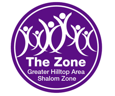 Greater Hilltop Area Shalom Zone logo