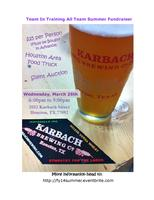 Karbach Brewery - Team In Training All Team Summer...