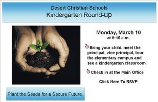 DCS March Kindergarten Round-Up